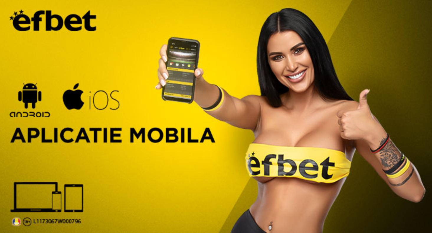 Изтегли Efbet мобиле за смартфони или таблети